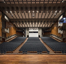 The restored Purcell Room at the Queen Elizabeth Hall, Southbank Centre, London - ARC103592