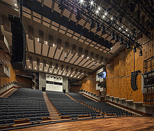 The restored Purcell Room at the Queen Elizabeth Hall, Southbank Centre, London - ARC103594