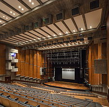 The restored Purcell Room at the Queen Elizabeth Hall, Southbank Centre, London - ARC103597