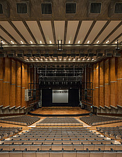 The restored Purcell Room at the Queen Elizabeth Hall, Southbank Centre, London - ARC103600
