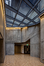 Foyer of the restored Queen Elizabeth Hall, Southbank Centre, London - ARC103644