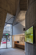 Foyer of the restored Queen Elizabeth Hall, Southbank Centre, London - ARC103649