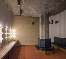 The dressing room of the restored Purcell Room at the Queen Elizabeth Hall, Southbank Centre, London - ARC103651