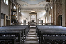 An abandoned church that is supposedly used by freemasons in Germany - ARC104512