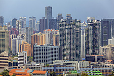 Cityscape view of residential buildings in Tanglin district, Singapore - ARC104592