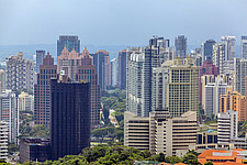 Cityscape view of residential buildings in Tanglin district, Singapore - ARC104593