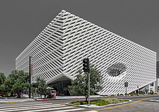 A day shot of the The Broad Museum of Modern Art, Downtown Los Angeles, USA, 2015 - ARC105779