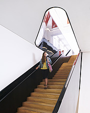 Interior view, staircase to gallery - ARC106538