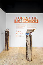 Forest of Fabrication is an exhibition by the Stirling Prize-winning practice dRMM Architects at The Building Centre, London presenting engineered tim... - ARC106854