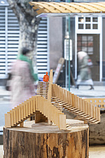 Forest of Fabrication is an exhibition by the Stirling Prize-winning practice dRMM Architects at The Building Centre, London presenting engineered tim... - ARC106862