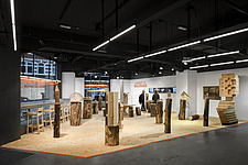 Forest of Fabrication is an exhibition by the Stirling Prize-winning practice dRMM Architects at The Building Centre, London presenting engineered tim... - ARC106867
