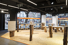 Forest of Fabrication is an exhibition by the Stirling Prize-winning practice dRMM Architects at The Building Centre, London presenting engineered tim... - ARC106868