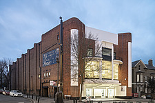 The Arch Climbing Wall, a former Art Deco- style cinema built in the 1930s, originally called Dominion, reused as climbing centre in Acton, London - ARC106880