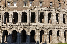 Exterior view of the Theatre of Marcellus, Rome, Italy - ARC106982