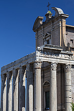 Temple of Antoninus and Faustina, Roman Forum, Rome, Italy - ARC106988