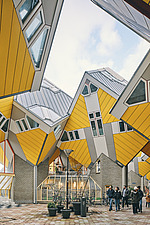 Exterior of Cube Houses, Rotterdam, Netherlands - ARC107397