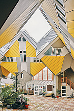 Exterior of Cube Houses, Rotterdam, Netherlands - ARC107398