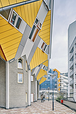 Exterior of Cube Houses, Rotterdam, Netherlands - ARC107407