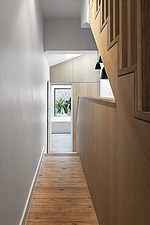 Hallway and bespoke timber staircase - ARC107695