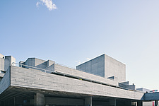 The Royal National Theatre on London's South Bank - ARC108124