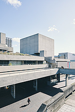 The Royal National Theatre on London's South Bank - ARC108125
