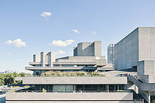 The Royal National Theatre on London's South Bank - ARC108126