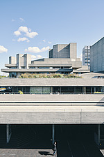 The Royal National Theatre on London's South Bank - ARC108128