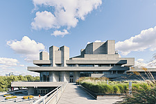 The Royal National Theatre on London's South Bank - ARC108137
