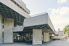 The Royal National Theatre on London's South Bank - ARC108141