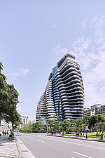 The Tao Zhu Yin Yuan Tower, or Agora Garden, is a sustainable residential tower in Taipei, Taiwan - ARC108305