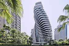 The Tao Zhu Yin Yuan Tower, or Agora Garden, is a sustainable residential tower in Taipei, Taiwan - ARC108313