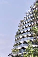 The Tao Zhu Yin Yuan Tower, or Agora Garden, is a sustainable residential tower in Taipei, Taiwan - ARC108323