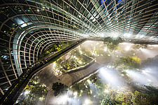 The Cloud Forest at Gardens by The Bay, Singapore - ARC108676