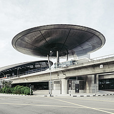 Expo MRT station, Singapore designed by Foster   Partners - ARC108883