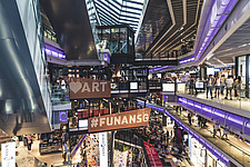 Funan Singapore - Integrated Mixed-Use Hub with experiential retail, Singapore, completed in June 2019 - ARC109215
