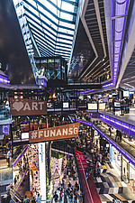Funan Singapore - Integrated Mixed-Use Hub with experiential retail, Singapore, completed in June 2019 - ARC109216