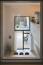 Interior of a Zenhusen (the Zen Houses) a sustainable town house, Stockholm, Sweden - ARC109574
