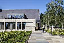 Prince and Princess of Wales Hospice, Bellahouston Park, Glasgow, Scotland, UK - ARC109669