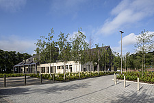 Prince and Princess of Wales Hospice, Bellahouston Park, Glasgow, Scotland, UK - ARC109674