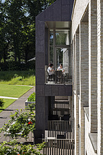 Prince and Princess of Wales Hospice, Bellahouston Park, Glasgow, Scotland, UK - ARC109677