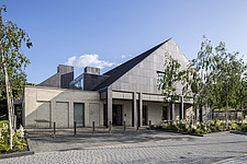 Prince and Princess of Wales Hospice, Bellahouston Park, Glasgow, Scotland, UK - ARC109680