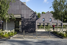 Prince and Princess of Wales Hospice, Bellahouston Park, Glasgow, Scotland, UK - ARC109682