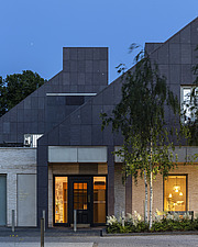 Prince and Princess of Wales Hospice, Bellahouston Park, Glasgow, Scotland, UK - ARC109683