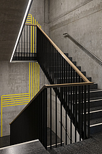 Stairwell in Welle7 in Bern, Switzerland - ARC109955