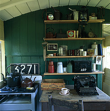 Will Brown's Railway Carriage, Norfolk, England - 9328-100-1