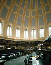 British Museum, London - Refurbishment of the  1855 Reading room by Sidney Smirke  2000 - 9752-130-1
