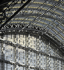 St Pancras Station, London - 12158-170-1